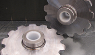 Gas Profile Cut Gears